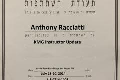 KMG Instructor Update