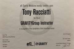 Gravity Group Instructor