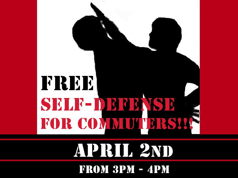 FREE Self Defense Class for Commuters