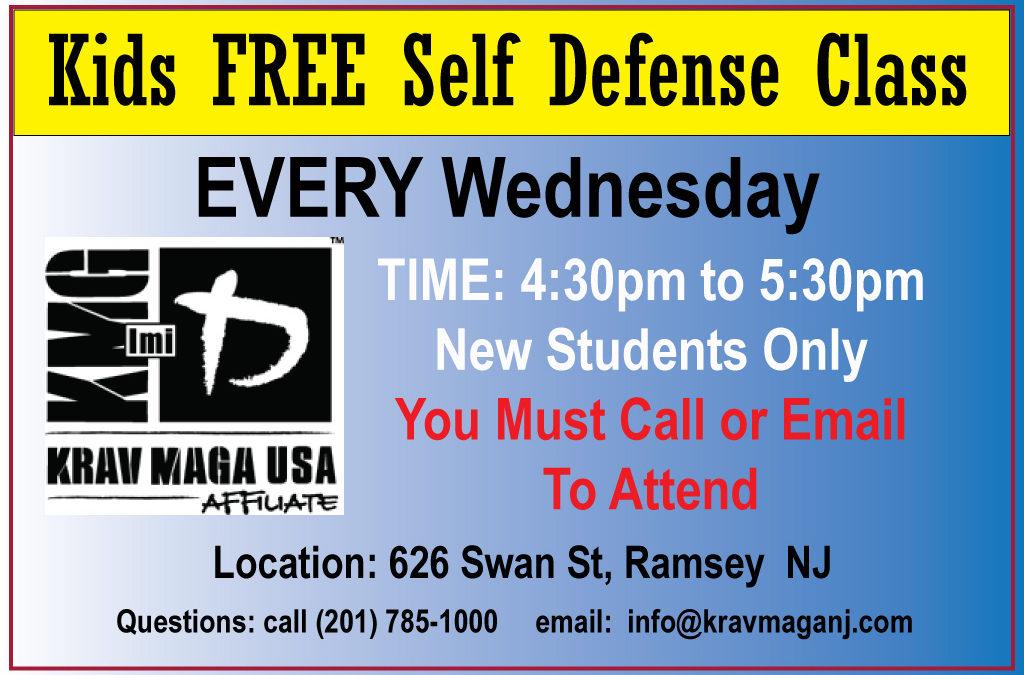 Kids FREE Self Defense Class