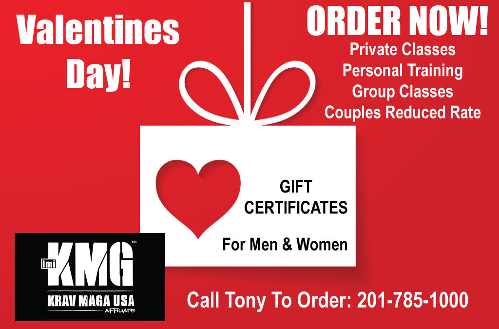 Valentines Day Gift Certificates Available Now!